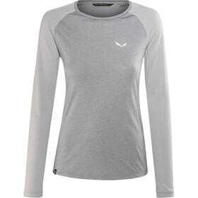 SALEWA Fanes Dri-Rel T-shirt à manches longues Femme, alloy